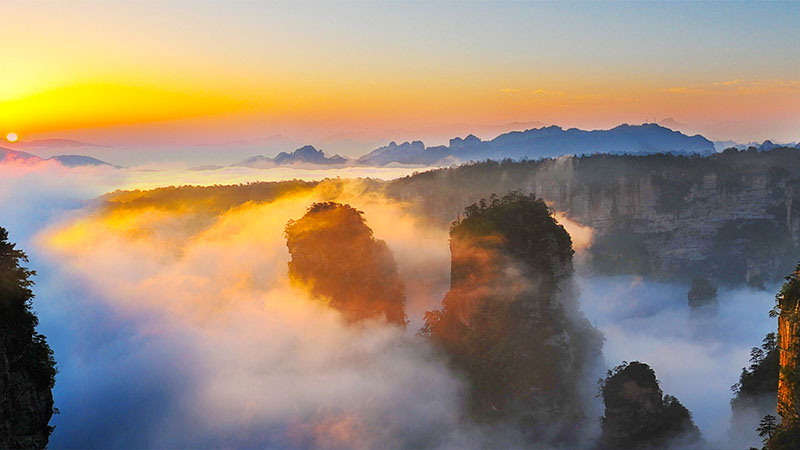 3 Days Zhangjiajie Sunrise Tour