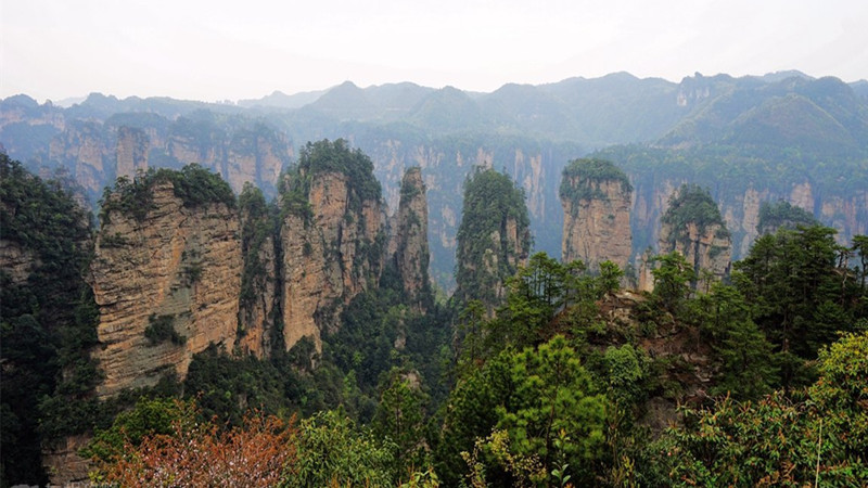 4 Days Zhangjiajie trekking Tour