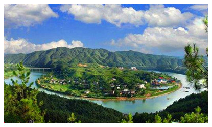 Miluo River and Qu Yuan