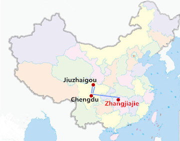 8 Days Zhangjiajie & Jiuzhaigou Tour
