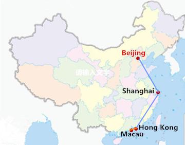 9 Days Beijing Shanghai Hongkong & Macau Tour
