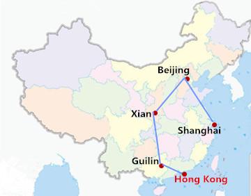 11 Days China Highlights Tour from Hong Kong