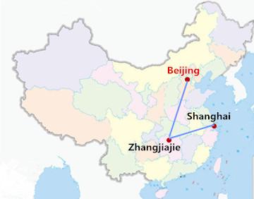 8 Days Beijing Zhangjiajie Shanghai Tour