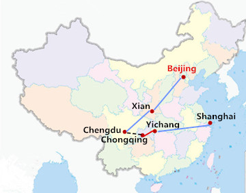 12 Days China Tour with Yangtze River