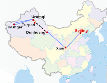 13 Days China Silk Road Tour from Beijing