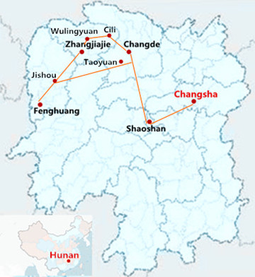 7 Days Beautiful Hunan Tour