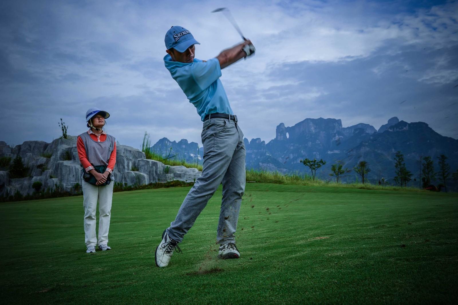 Zhangjiajie Skydoor Golf Course