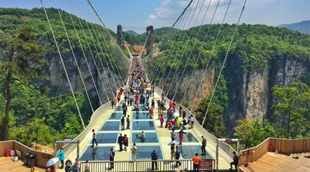 4 Days Group Zhangjiajie Avatar with Mt Tianmen and Glass Bridge