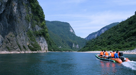 1 Day Maoyan River Rafting with Jiutian Cave & Kuzhu Village