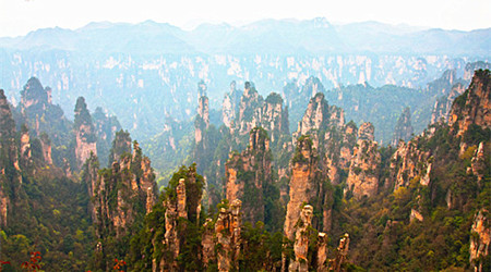 3 Days Group Zhangjiajie Avatar with Tianmen Mountain