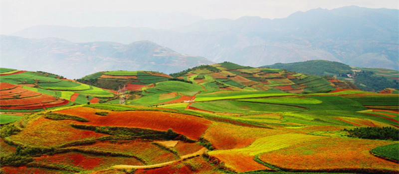 5 Days Yunnan Dongchuan Red Land Tour
