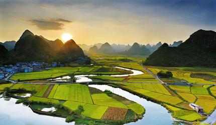 Fantastic Scenery of Li River