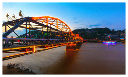 Lanzhou Yellow River Iron Bridge