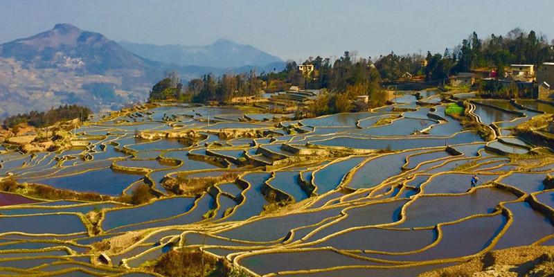 7 Days Kunming Jianshui Yuanyang Tour