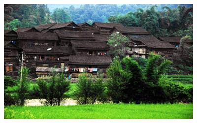 Bamao Shui Ethnic Village
