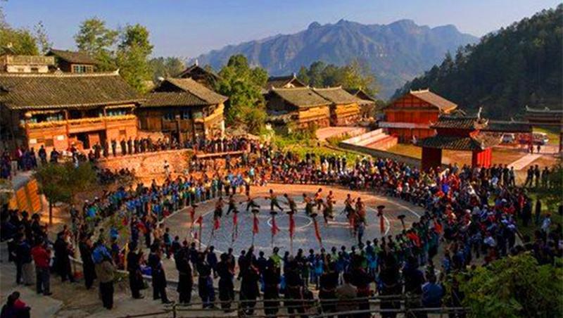 Langmu Shui Village
