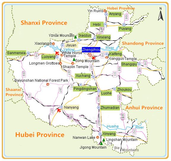 Henan Map