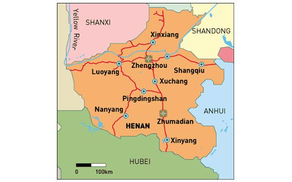 Henan Tour Maps