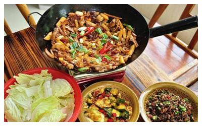 Tujia Sanxiaguo Hot Pot