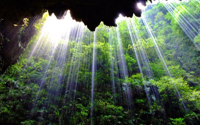 Water Curtain Waterfall