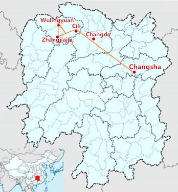 5 Days Changsha Zhangjiajie Tour by Car